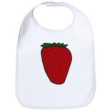 Tasty Strawberry Bib