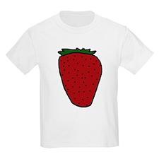 Tasty Strawberry Kids T-Shirt