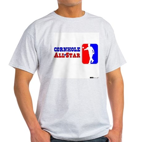 Cornhole AllStar Ash Grey T-Shirt