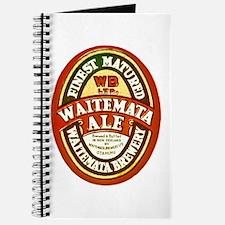 New Zealand Beer Label 8 Journal