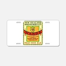 New Zealand Beer Label 3 Aluminum License Plate