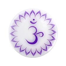 "Crown Chakra 3.5"" Button (100 pack)"