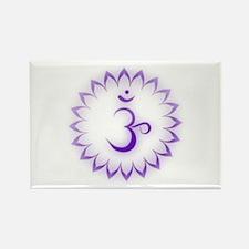 Crown Chakra Rectangle Magnet