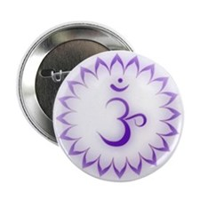 "Crown Chakra 2.25"" Button"