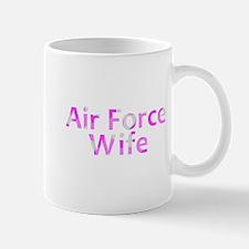 Air Force Wife Pink Camo Mug