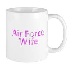 Air Force Wife Pink Camo Mug