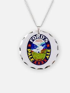 New Zealand Beer Label 1 Necklace
