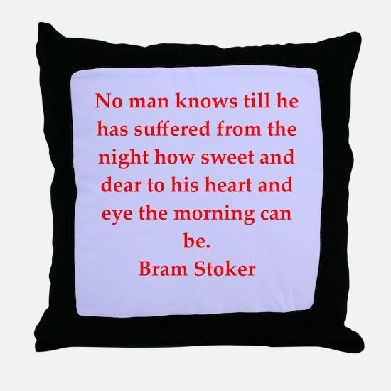 stoker4.png Throw Pillow