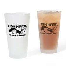 FISH HARD CATFISH Drinking Glass