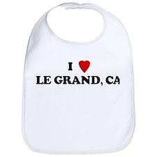 I Love LE GRAND Bib