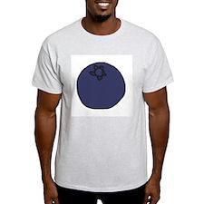 Tasty Blueberry Ash Grey T-Shirt
