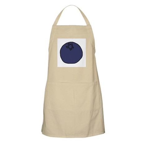 Tasty Blueberry BBQ Apron