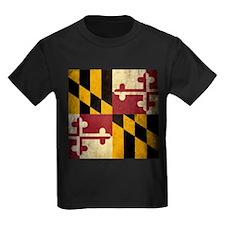 Grunge Maryland Flag T
