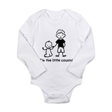 Little Cousin - Stick Figures Long Sleeve Infant B