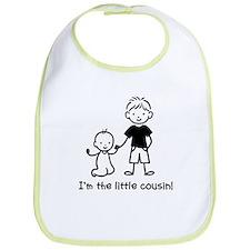 Little Cousin - Stick Figures Bib