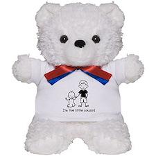 Little Cousin - Stick Figures Teddy Bear