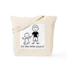 Little Cousin - Stick Figures Tote Bag