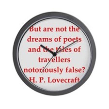 lovecraft2.png Wall Clock