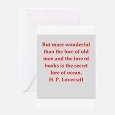 lovecraft3.png Greeting Card