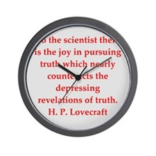 lovecraft11.png Wall Clock
