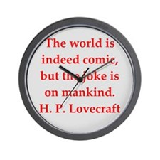 lovecraft10.png Wall Clock