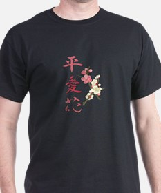 Peace, Love, and Flowers T-Shirt