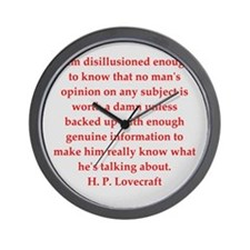 lovecraft4.png Wall Clock