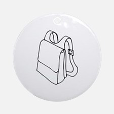 Back To School Ornament (Round)