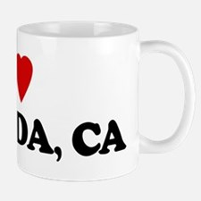 I Love VALINDA Small Small Mug
