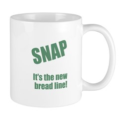 SNAP the new bread line Mug