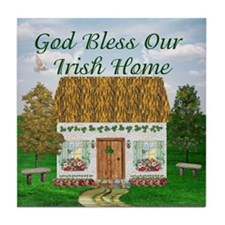 'God Bless Our Irish Home' Tile