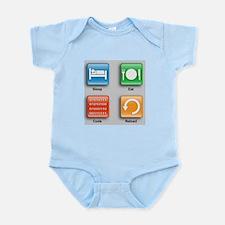 The Code Monkey's Guide Infant Bodysuit