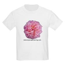 Pink Rose Club Kids T-Shirt