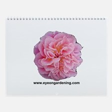 Pink Rose Club Wall Calendar