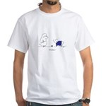 Itchy Lamb White T-Shirt