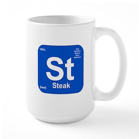 St (Steak) Element Large Mug