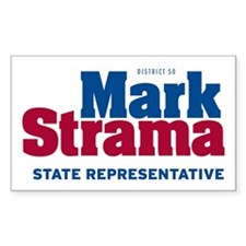Mark Strama for State Rep Rectangle Decal