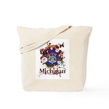 Butterflies Michigan Tote Bag