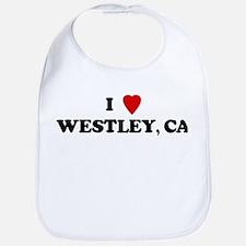 I Love WESTLEY Bib