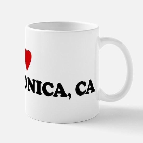 I Love SANTA MONICA Mug