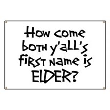 How come both yalls first name is Elder? LDS Missi