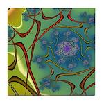 Japan Fractal Tile Coaster