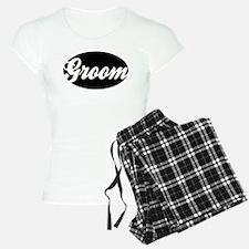 OVAL GROOM (BLK) Pajamas