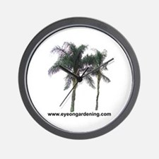 Palm Trees Wall Clock