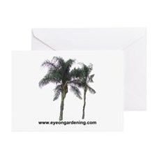 Palm Trees Greeting Cards (Pk of 10)