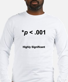Highly statistically significant at p < .001 Long