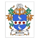 Jenison Coat of Arms Small Poster