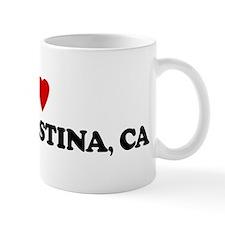 I Love LAKE SHASTINA Mug