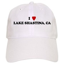 I Love LAKE SHASTINA Baseball Cap