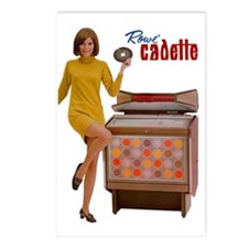 Rowe Cadette Postcards (Package of 8)